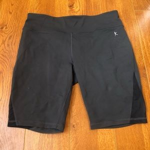 Danskin Fitted Gray Biker Shorts